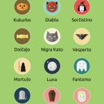 Esperanto Halloween Words