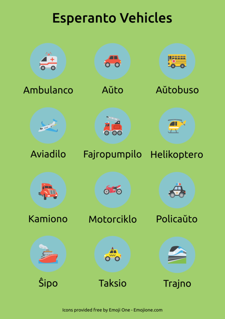 Esperanto Vehicles