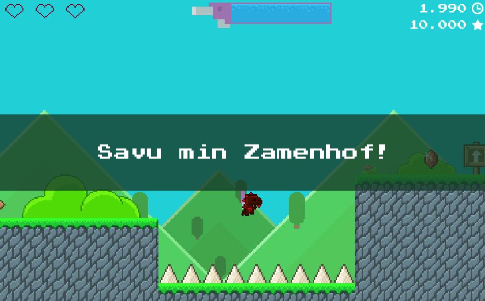 Super Jetpack Lizard Savu Min Zamenhof